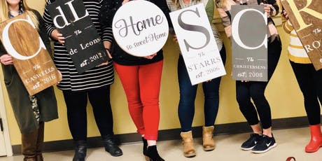 DIY Family Sign Class tickets