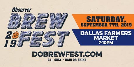 Dallas Observer BrewFest tickets