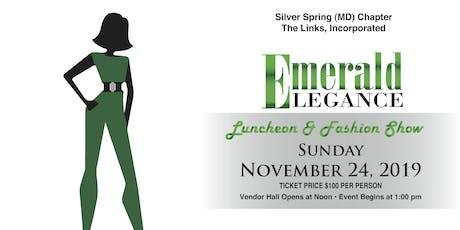 2019 Emerald Elegance on the Runway Virtual Advertising tickets