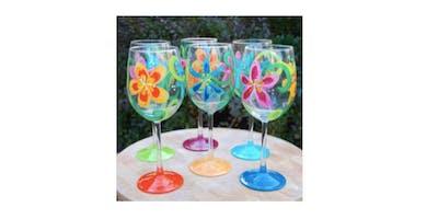Bethlehem Paint & Sip Wine Glasses