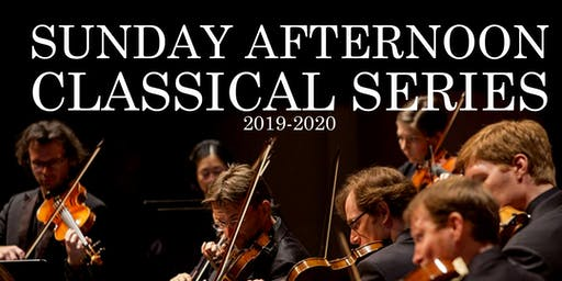 SUNDAY AFTERNOON CLASSICAL SERIES 2019-20