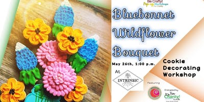 Be Crafty! Pop-up: Bluebonnet Wildflower Bouquet Cookie Decorating Workshop