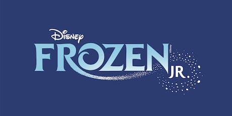 August 2nd: Disney's Frozen, Jr. Show Tickets tickets