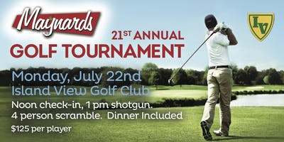 Maynard's 21st Annual Golf Tournament