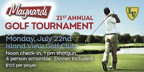 Maynard's 21st Annual Golf Tournament  tickets