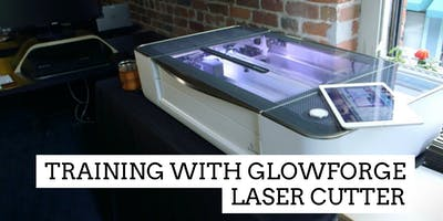 Tool Training with GLOWFORGE Laser Cutter