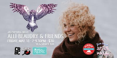 Jupiter Hall Live! An Evening with Alli Beaudry & Friends