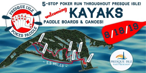 Presque Isle Poker Paddle 2019