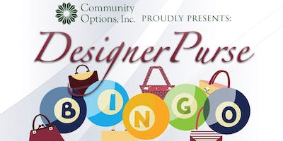 Community Options: Designer Purse Bingo