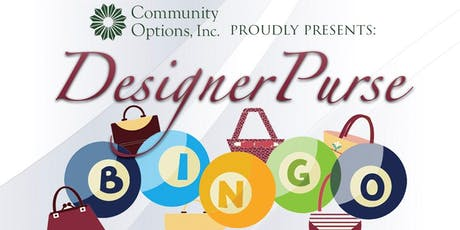 Community Options: Designer Purse Bingo tickets