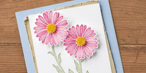 Daisy Lane Card Class