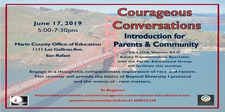 Courageous Conversations Introduction for Parents & Community tickets