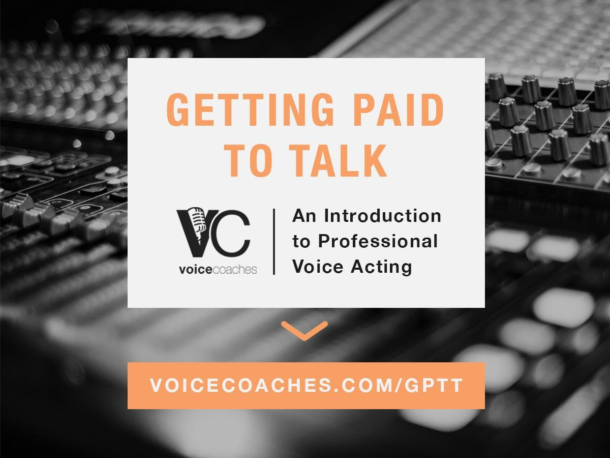 Grand Rapids - Getting Paid to Talk, Making Money with Your Voice banner
