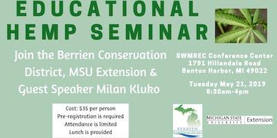 Educational Hemp Seminar - Berrien Conservation District