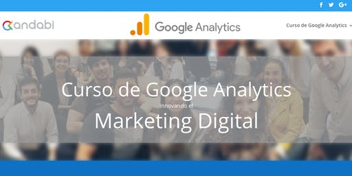 Google Analytics Curso presencial by andabi.com