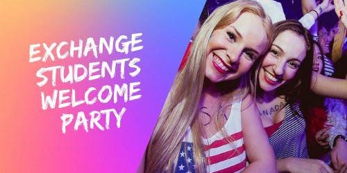 Exchange Students Welcome Party