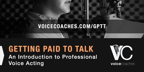Raleigh- Getting Paid to Talk, Making Money with Your Voice tickets