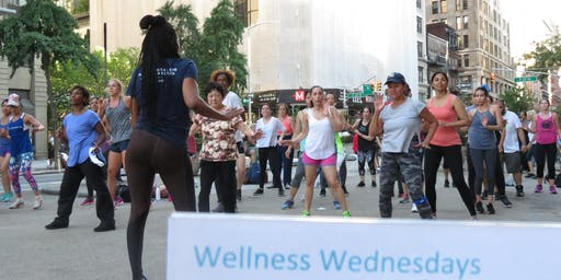 Flatiron Wellness Wednesday - All Levels Street Jazz
