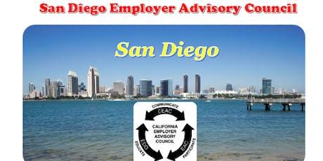 San Diego Employer Advisory Council AB 1825 Workshop 2019 tickets