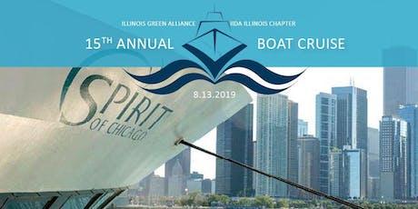 IIDA Illinois Chapter & Illinois Green Alliance Boat Cruise tickets