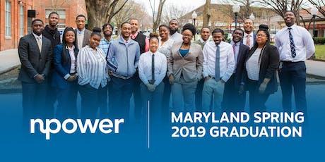 NPower Maryland Spring 2019 Graduation tickets