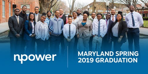 NPower Maryland Spring 2019 Graduation