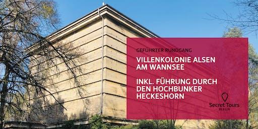 Villenkolonie Alsen (Wannsee) inkl. Führung durch den Hochbunker Heckeshorn