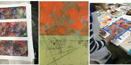 Expressive Mark-making with Oil and Cold Wax/ OPEN Acrylic and Gels tickets