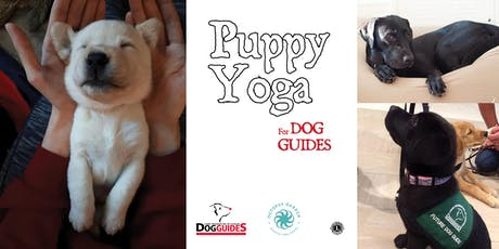 Puppy Yoga for Dog Guides! tickets