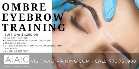 OMBRE EYEBROW CERTIFICATION TRAINING tickets