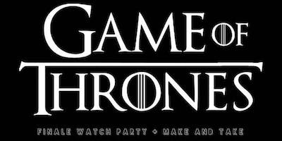 Game of Thrones Watch Party + Make and Take