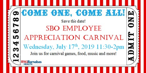 SBO Employee Appreciation Carnival
