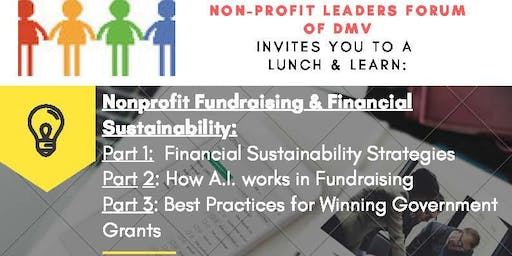 Nonprofit Fundraising & Sustainability: Strategies, A.I. & Government Grants
