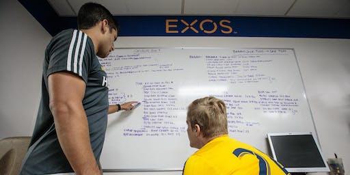 EXOS Performance Mentorship Phase 1 - Rio de Janiero, Brazil