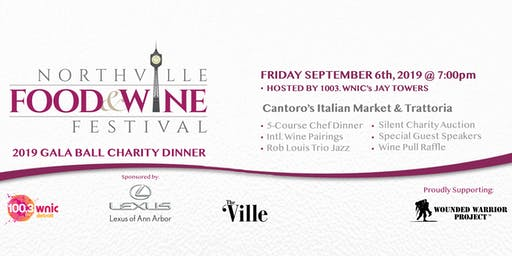 2019 Northville Food & Wine Festival Gala Charity Ball Dinner