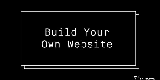 CANCELED | Intro to HTML/CSS: Build Your Own Website