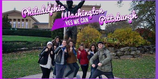 MEGA Road Trip to Washington, Philadelphia, Pittsburgh