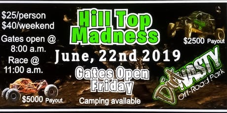 Dirt Nasty Hill Top Madness tickets