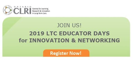 2019 LTC EDUCATOR DAYS FOR INNOVATION & NETWORKING tickets