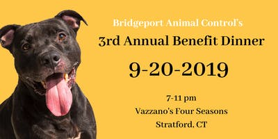 Bridgeport Animal Control 3rd Annual Benefit Dinner