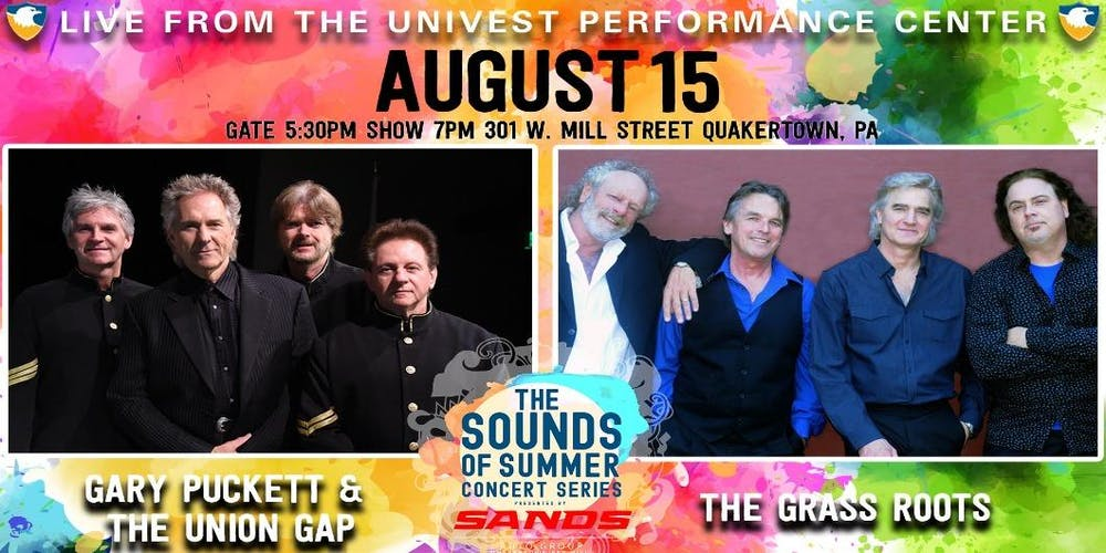 Gary Puckett and The Union Gap with The Grass Roots - Sands Sounds