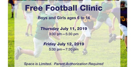 90th LULAC National Convention and Exposition Football Clinic