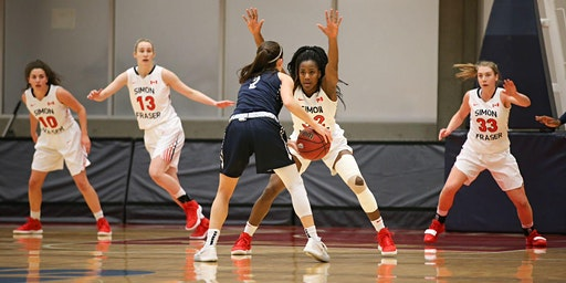 SFU WOMEN'S BASKETBALL vs. Central Washington University