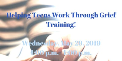 Helping Teens Work Through Grief Training for Mental Health Professionals!