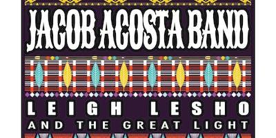 Jacob Acosta Band and Leigh Lesho