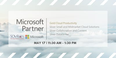 """May Lunch & Learn: """"The Cloud - Is It Right For You?"""" with Sovran"""