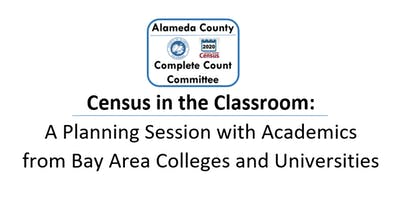 Census in the Classroom: A Workshop with Academics of Bay Area Colleges