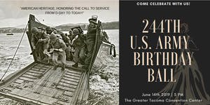 244th U.S. Army Birthday Ball