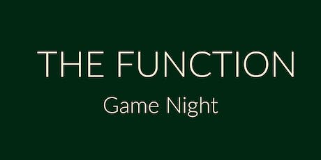Sip & Sonder presents ... THE FUNCTION | Game Night tickets