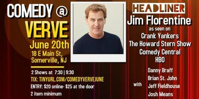 Comedy at Verve with Jim Florentine